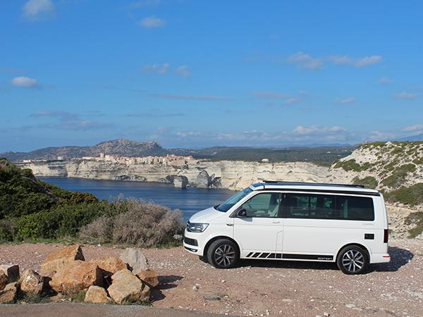 touring corsica in a volkswagen california coast. Black Bedroom Furniture Sets. Home Design Ideas